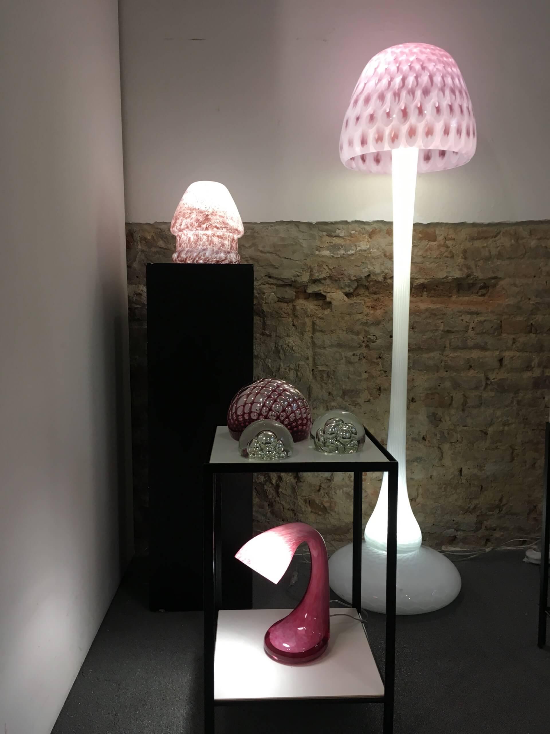 Storytelling Design | Arnout Visser | Lamp | Glas | Mushrooms