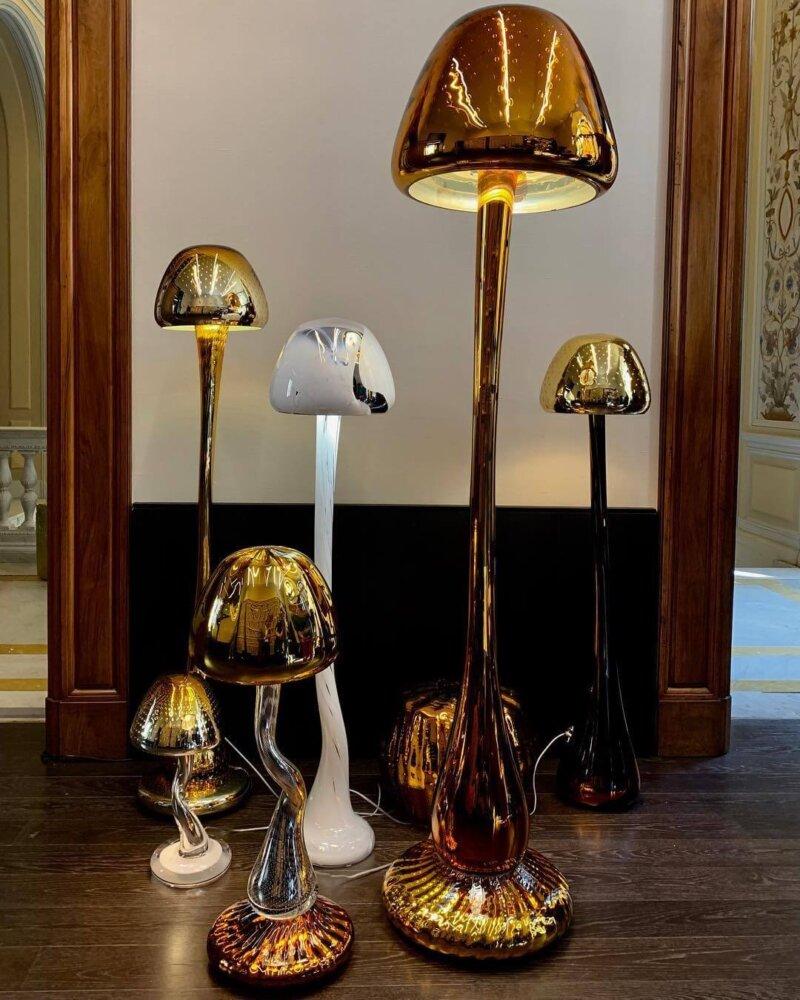 Storytelling Design | Arnout Visser | Lamp | Mushrooms | glas