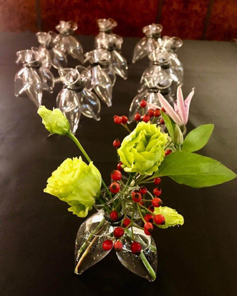 Storytelling Design | Arnout Visser | Vaas | 3 flower vase | glas