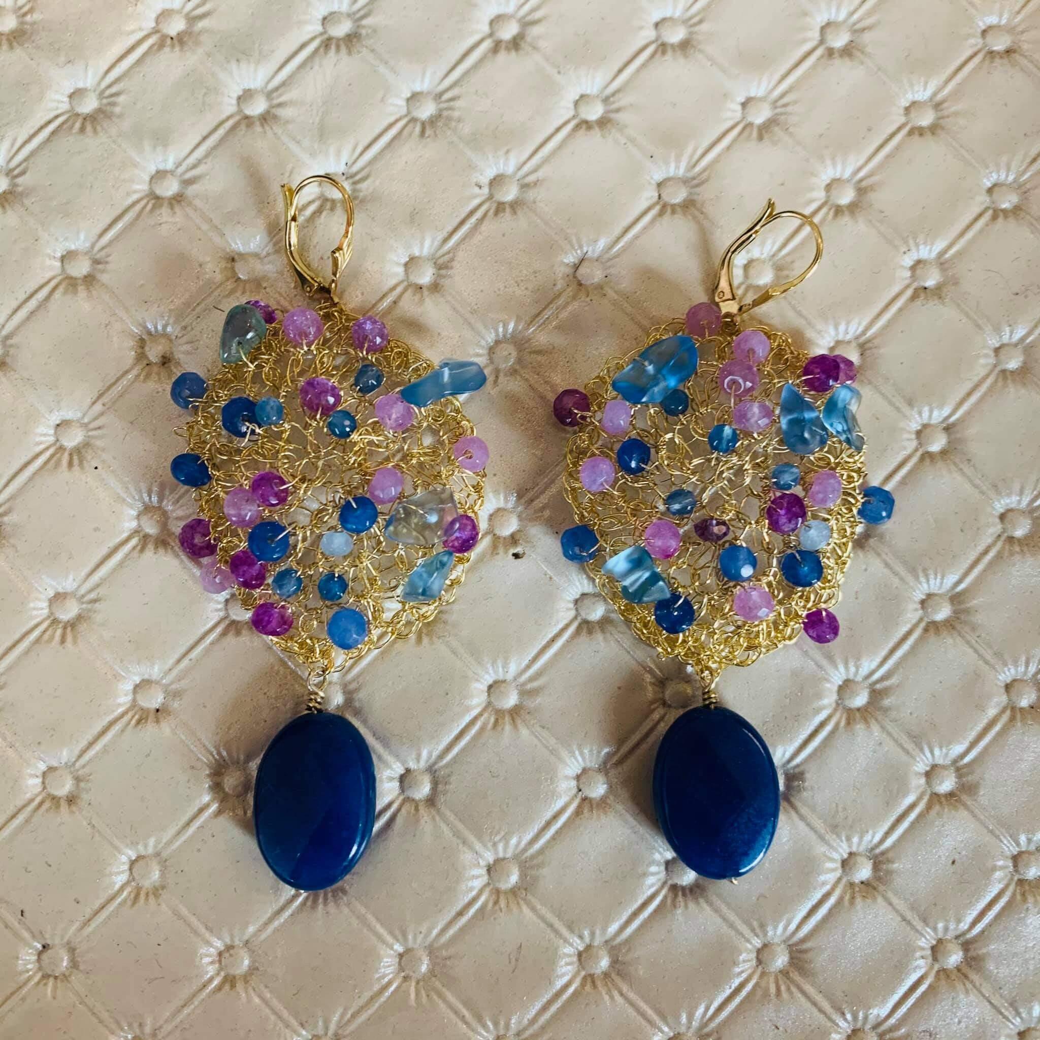 Storytelling Design   Wilhelmina Art Jewelry   Oorbellen   Haken