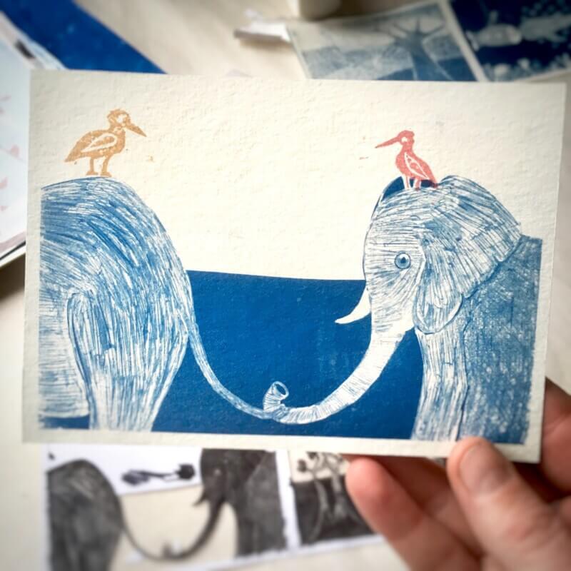 Storytelling Design | Elze van den Akker | Kaart | Blauw