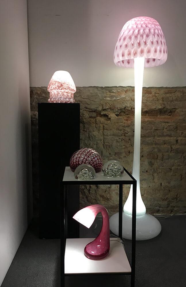 Storytelling Design   Arnout Visser   Lamp   Mushroom   Roze